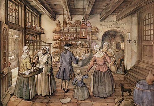 Anton Pieck - broodzaak - Orange Licensing