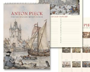 Anton Pieck - verjaardagskalender - Orange Licensing
