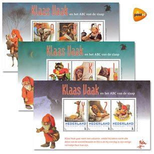 Rien Poortvliet - Klaas Vaak postzegels - Orange Licensing