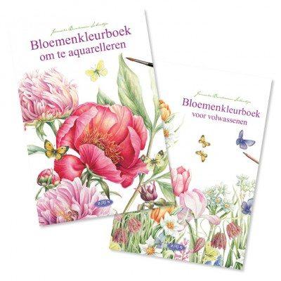 Kleur- en aquarelboek van Janneke Brinkman-Salentijn