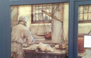 Anton Pieck - siert ambachtelijke bakkerij Brokking