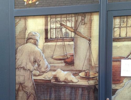 Anton Pieck decorates artisan bakery!
