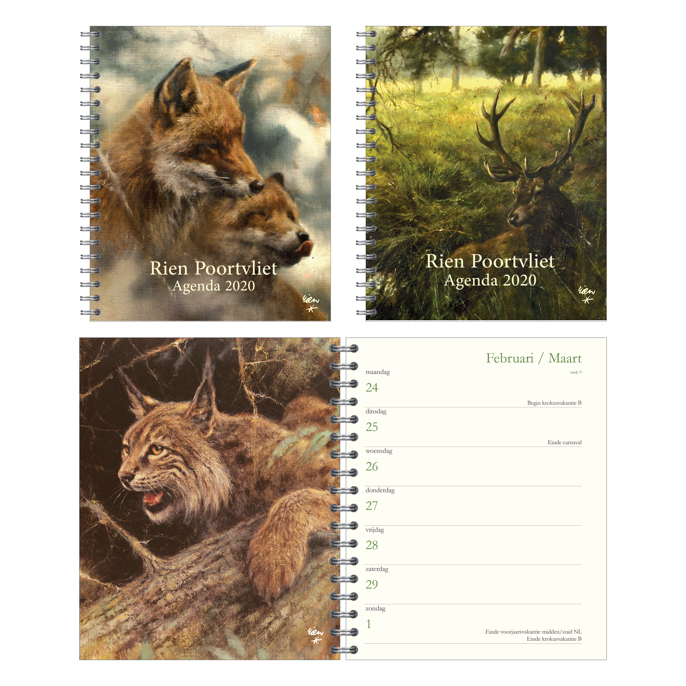 Rien Poortvliet - kalender - Orange Licensing