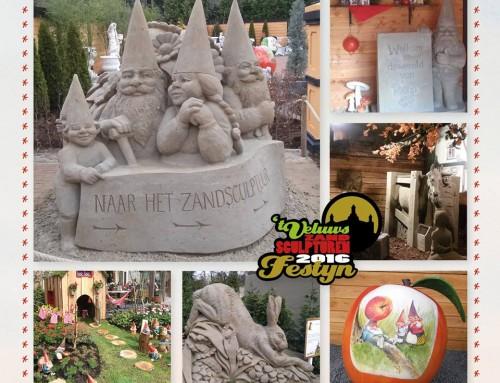 Zandsculpturenfestijn: de wereld van Rien Poortvliet