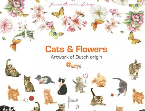 Orange Licensing brochure – Cats & Flowers