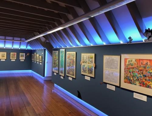 Expositie Jan van Haasteren in het Anton Pieck museum