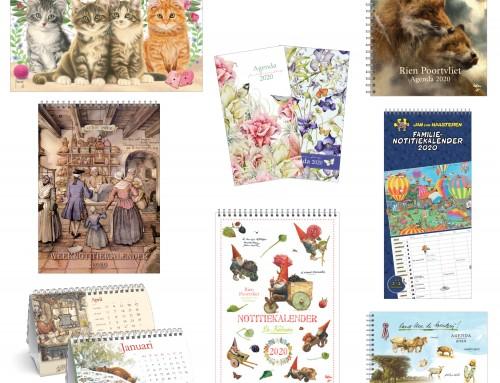Kalenders en agenda's 2020 weer beschikbaar!