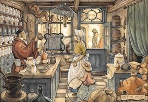 Anton Pieck - apotheker - Orange Licensing