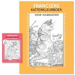 Francien van Westering - kleurboek - Orange Licensing