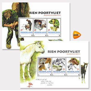 Rien Poortvliet - postzegels post.nl - Orange Licensing