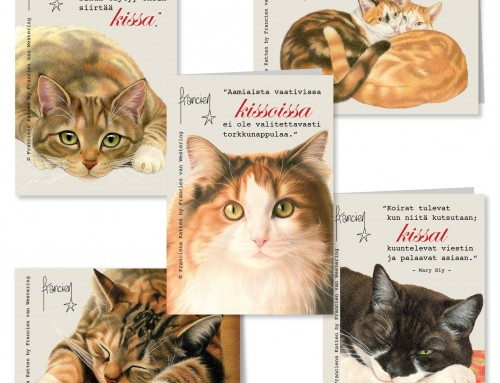Greeting cards of Francien in Finland!