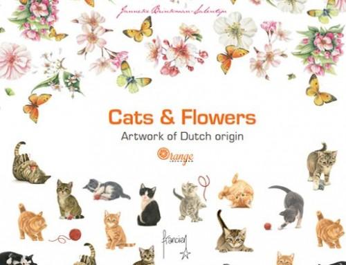 Orange Licensing brochure – Cats & Flowers
