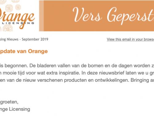 Herfst-update Orange