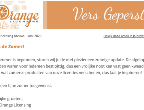 Zomer-update Orange