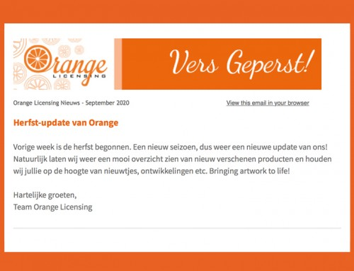 Herfst-update van Orange