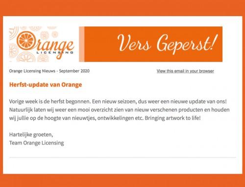 Herfst-update van Orange